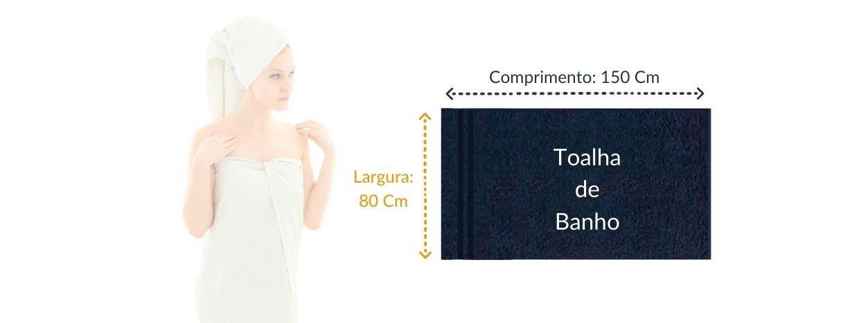tabela de medidas toalha de banho linha lisboa toalha show