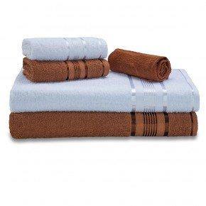 jogo de banho gigante kit banho e rosto grande linha egito toalha show 9