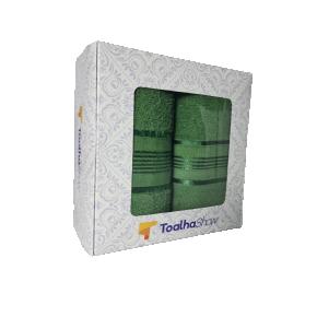 toalha show toalha de banho toalha de rosto presente verde