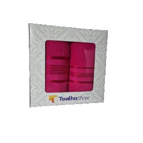 toalha show toalha de banho toalha de rosto presente pink