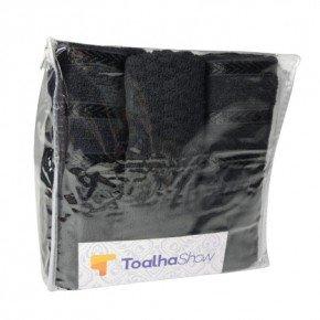 toalha de banho rosto piso jogo embalagem reciclavel ziper necessaire linha viena toalha show 12